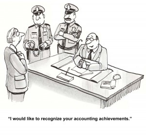 """""""Well, I always told you that your ability with numbers was criminal."""""""