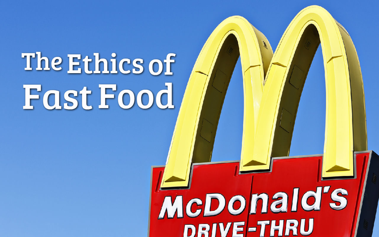 ethical dilemma fast food Nevertheless, fast food firms also do a very good job in marketing their products to carefully targeted audiences, especially children this paper will focus on the case of mcdonald's and argue how ethical it is for them to advertise for children directly, examining the issue from the perspective of social responsibility.