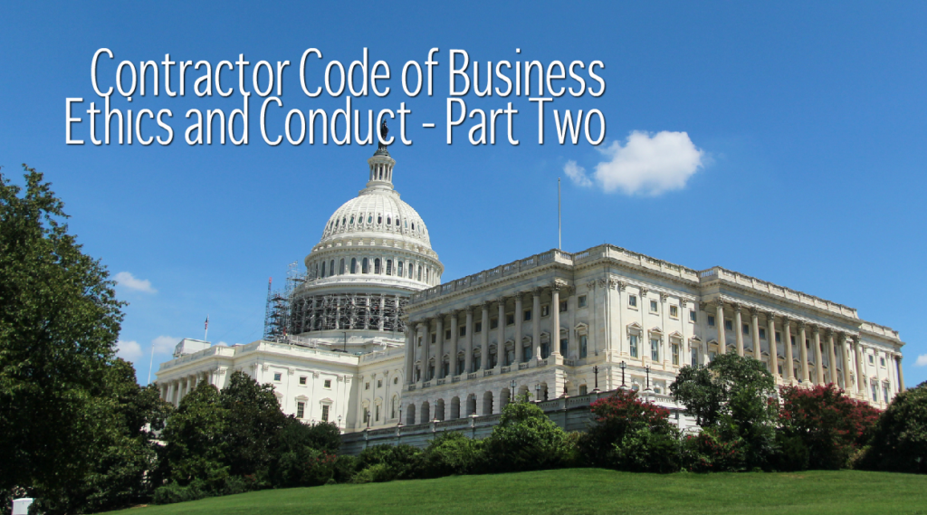 Contractor Code of Business Ethics
