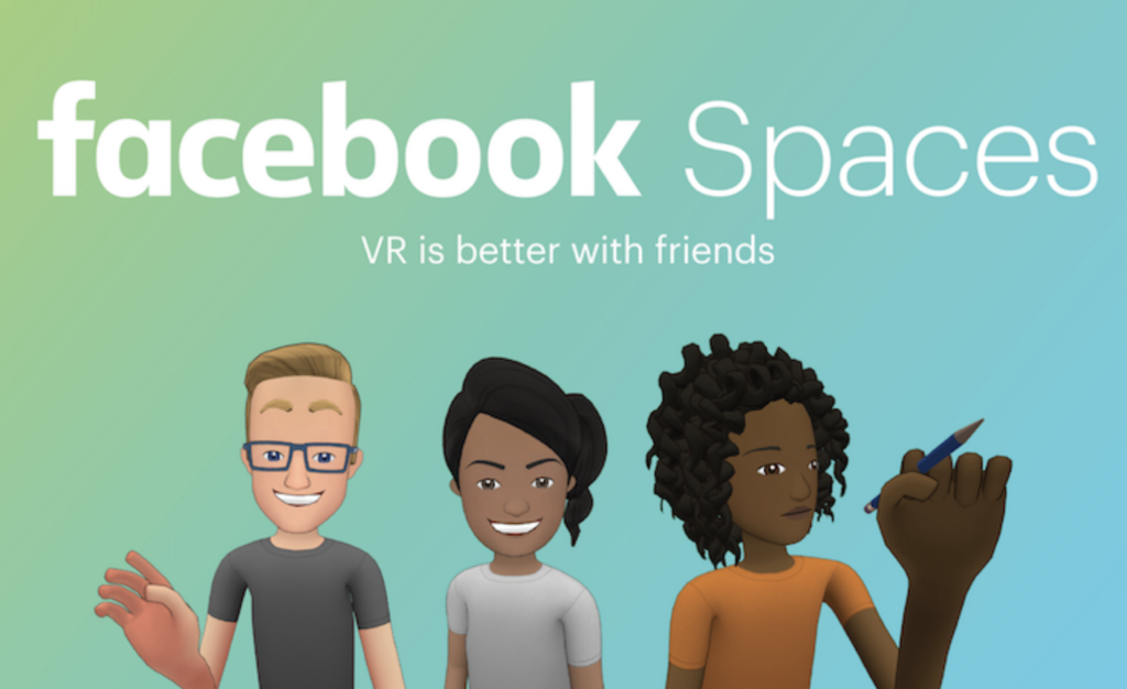 Zuckerberg and FB Spaces