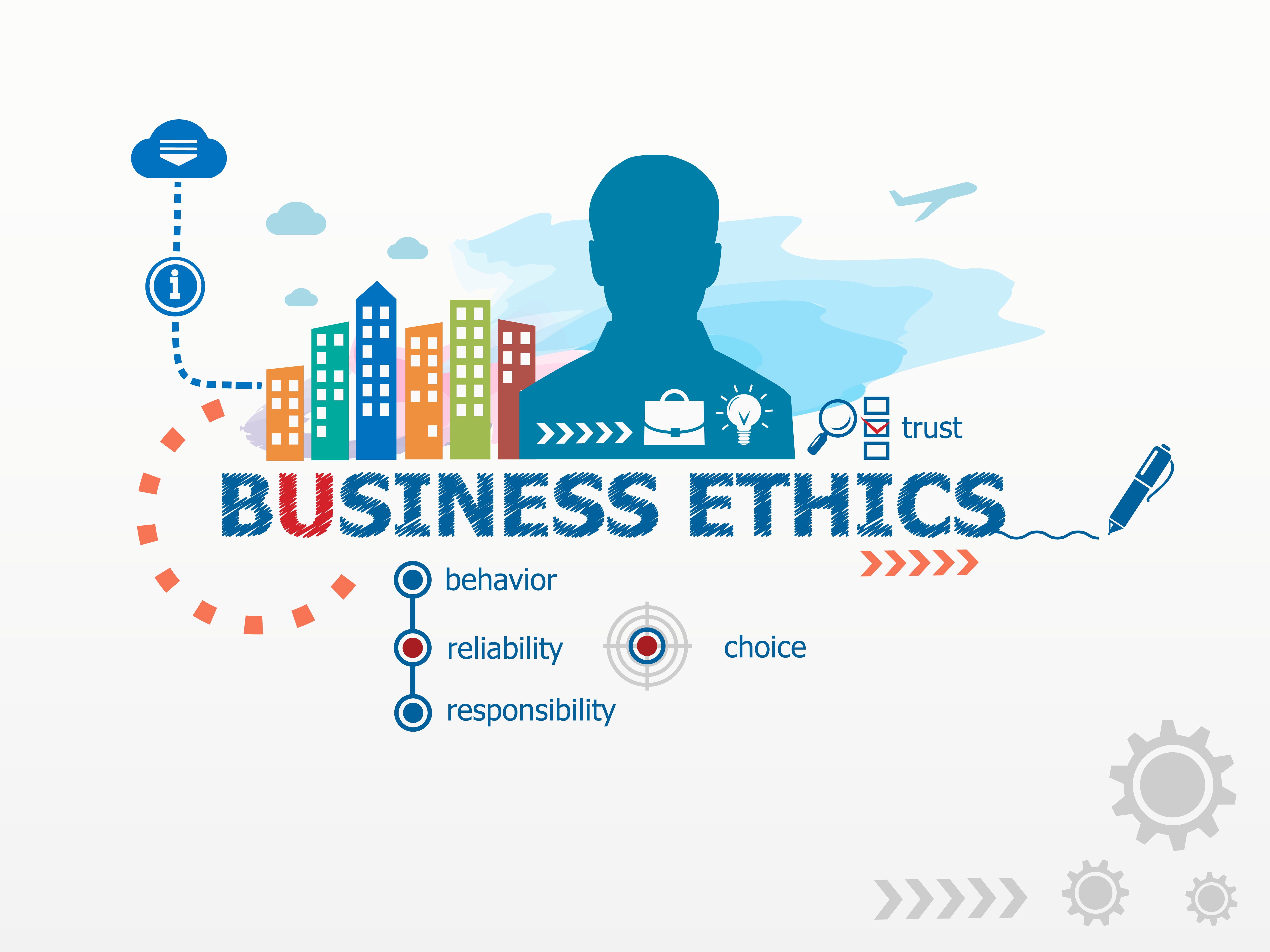 bluffing business ethics and carr