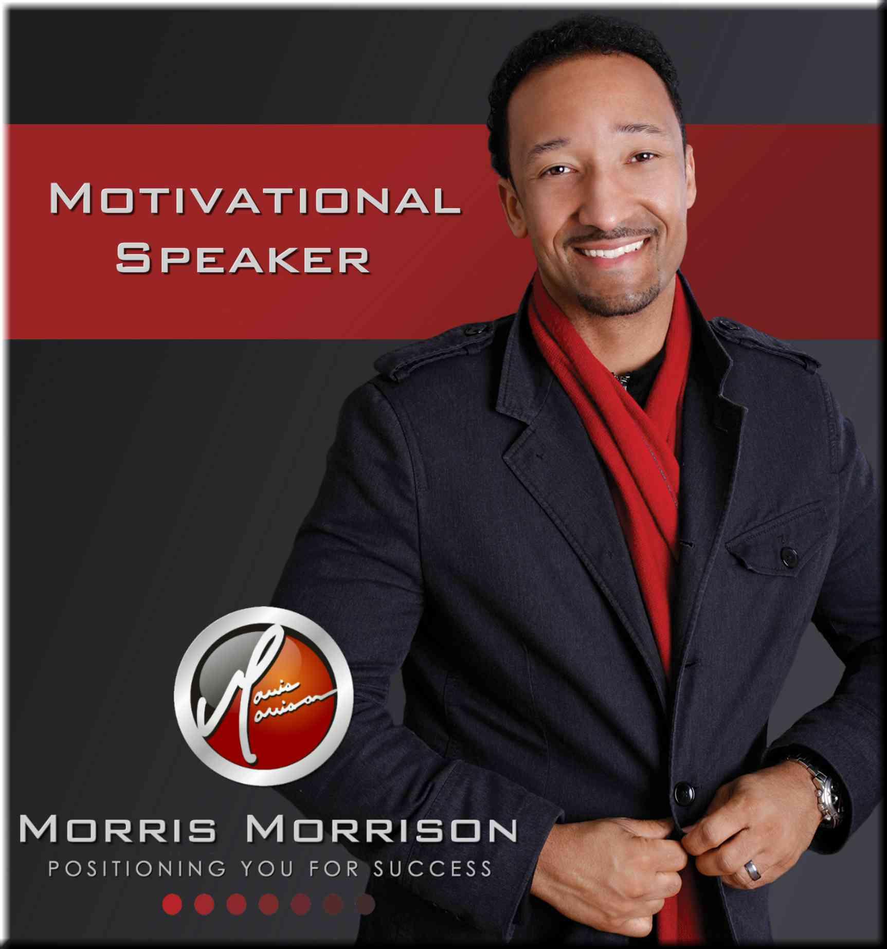 morris morrison motivational speaker interviewed by