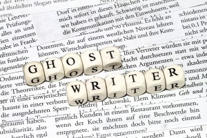 Ghostwriting from 1th draft