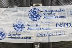 TSA Inspected Suitcase