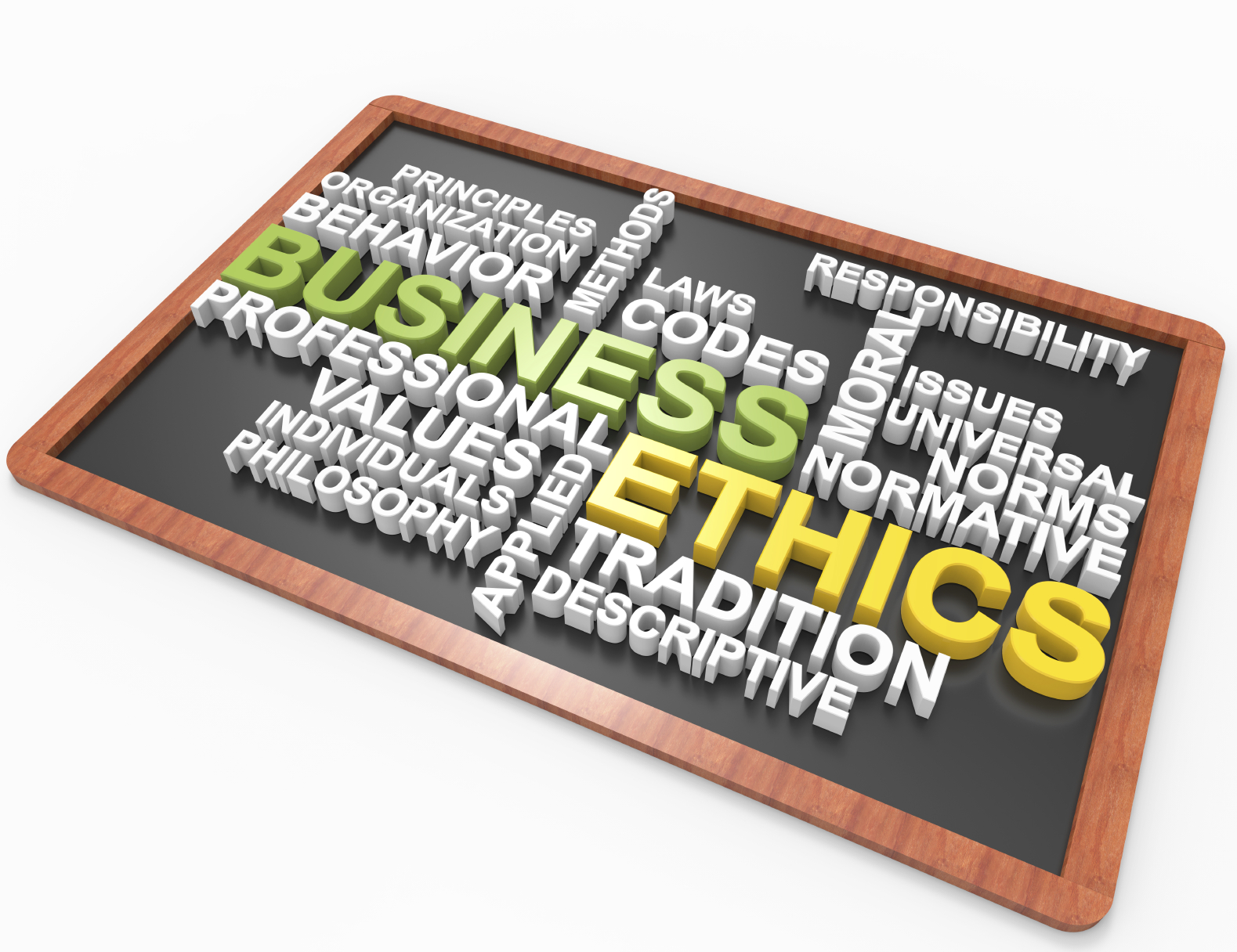 business should always be ethically and Why is ethics important in accounting update depreciation of assets there is always a conflict my personal reputation is effected by my business ethics.